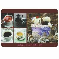 China Wooden Placemats And Coasters , Protects Table From Water Marks wholesale
