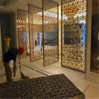 China Decorative metal work for Hotel Screen Partition Restaurant Screen Partition Wall panel on sale