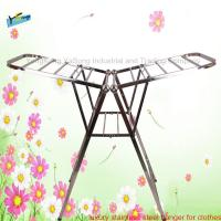 Heavy duty folding  hanger for clothes Manufactures