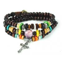 Unique Disign Beautiful High Quality Custom Leather Ankle Chain / Bracelets M0021 Manufactures
