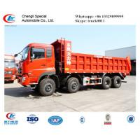 China heavy transport vehicles Dongfeng 8x4 mining dump truck for sale, tipper truck Manufactures