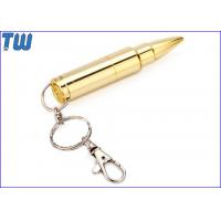 Buy cheap Best Price Customized Keychain Bullet Disk Storage 128GB USB Thumbdrive from wholesalers