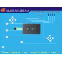 Male Connector One Push Button Membrane Switch / Membrane Keyboards