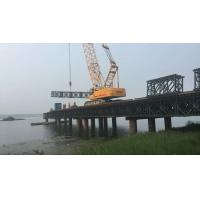 China HD 200 Type Steel Bailey Bridge Temporary Pre Engineered Pedestrian Bridges wholesale