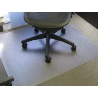 Chemical Resistant Studded Home Office Chair Floor Mat Non Slip And Washable Manufactures