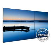 Multiple Narrow Bezel Digital Signage Video Wall , 55 inch wall mounted signage Manufactures