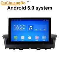 China Ouchuangbo car audio gps stereo for Besturn X40 support BT aux USB swc android 6.0 OS wholesale