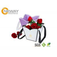 OEM / ODM Customized Flower Gift Packaging Boxes With Silk Printing Manufactures