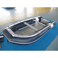 PVC 470cm inflatable dinghy Easy Take Against Abrasion With Foot Pump for water racing Manufactures