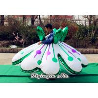 Beautiful Flower Skirts Inflatable Customes for Christmas, Halloween Events Manufactures