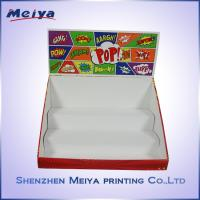 Promotion Customized cardboard counter display boxes For Plush Toys Manufactures