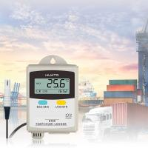 External Sensor Temperature Recorders Data Loggers , Temperature And Humidity Logger