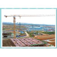 Self Erecting Construction Tower Crane , Moldel ZT5610 Topless Tower Crane On Rails Manufactures