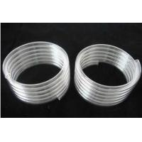 Helical  quartz glass tubes