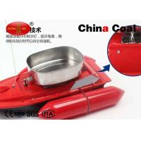 China Red Popular Remote Control Fishing Bait Boat Can Fish Automatically wholesale