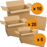 Foldable Cardboard Carton Box For Clothing / Bulb Packaging Anti - Collision