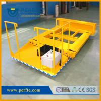 China China manufacturer high quality steel plates flat pallet transfer trolley on sale