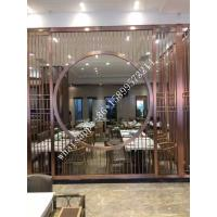 Restaurant stainless steel room divider made in china Manufactures