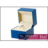 China Rechargeable spot UV Musical Jewellery Boxes, custom diamond ring box with music playing on sale