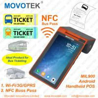 Buy cheap A3 Movotek Android POS Terminal with Printer, NFC Reader, WiFi and 3G from wholesalers