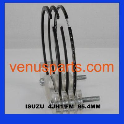Quality 4JH1 isuzu  piston ring 8-97941-122-0,SDI10-193ZZ for sale