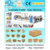 High Speed Carton Automatic Folder Gluer Machine QF Series 140 Pieces / Min Manufactures