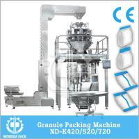 VFFS Frozen Vegetable Packing Machine With Touch Screen Display Low Noise Manufactures
