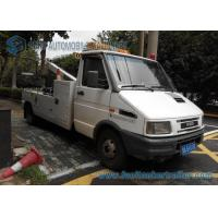 China Diesel IVECO 4X2 5 Ton Light Duty Wrecker Flatbed Tow Truck wholesale