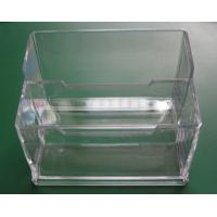 China Clear Plastic Business Card Boxes on sale