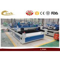 Stainless Steel / Iron / Carbon Steel CNC Laser Cutter Hiwin Linear Square Rails Manufactures