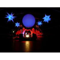 Hanging Inflatable Led Light Ball for Advertisement and Party Supplies Manufactures