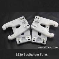 China White BT30 Tool Forks  Plastic CNC Tool Holder Clips for BT30 ATC Toolchanger on sale