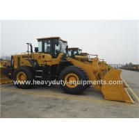 Energy Saving Wheel Heavy Equipment Loader Weichai Engine Standard Bucket 5 Tons Loading Capacity Manufactures