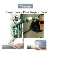 Industrial Plumbing Fiberglass coated with Polyurethane Material Pipe Repair Bandage Manufactures