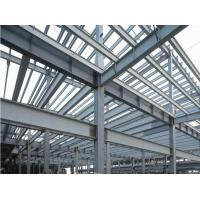 Prefab Industrial Steel Buildings Components Fabrication , Commercial Steel Buildings Manufactures
