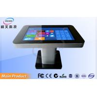 Flat Touch Foil 4 Points Touch Interactive Multi Touch Table For Twitter / News Manufactures