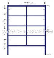"Double Box Frame 60"" W x 80"" H Manufactures"