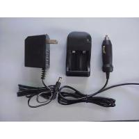 CR123A charger with car cable and adapter Manufactures