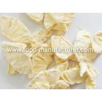 Freeze Dried Fruit Freeze Dried Pineapple Chips Manufactures