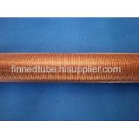 Low fin tube
