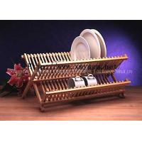 Folding Wooden Dish Drying Rack Manufactures