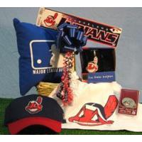 China Sports Gift Baskets Cleveland Indians Baseball Deluxe on sale