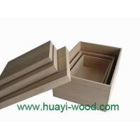 China Unfinished Wood Boxes on sale
