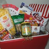 China Custom Gift Basket Ideas Enjoy the Game Cooler on sale