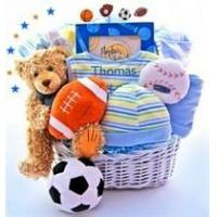China Baby Gifts All In The Game Baby Gift Basket - Limited Edition on sale