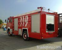 STEYR SINGLE AXLE FIRE TRUCK