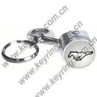 Piston Key chains, Ford Mustang Horse Piston Keychains Manufactures