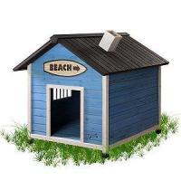 China Beach House Dog House Large on sale