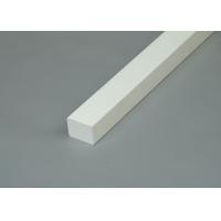 Quality 3/4 x 1 White Moisture-Proof PVC Trim Moldings / PVC Trim Boards For Home for sale