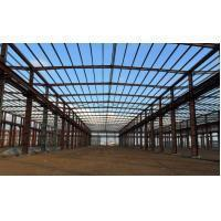 Hot Dipped Galvanized Industrial Steel Building Engineering Design PKPM , 3D3S , X-steel Manufactures